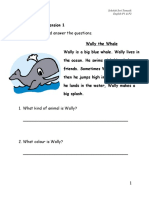 Reading Comprehension Practice for Primary 1