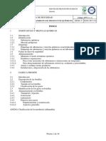 NPR-11 x1x ES Ed 3 Etiquetaje y Almacenamiento de Productos Quimicos