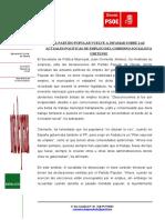 Np-respuesta a Las Declaraciones Sobre Los Planes de Empleo