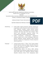 KMK No. HK.01.01-MENKES-191-2017 Ttg Eliminasi Campak Dan Pengendalian Rubela