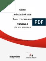 Como Administrar Recursos Humanos