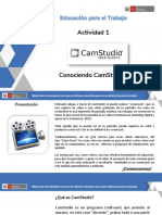 1. Tutorial Conociendo CamStudio