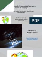 Apresentação - IPB - Parapente 2018 - Paulo Jorge Araújo -  Município de Mirandela