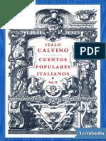 Cuentos Populares Italianos Vol II - Italo Calvino