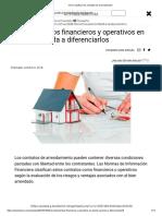 Cómo clasificar los contratos de arrendamiento Actualicese-Colombia