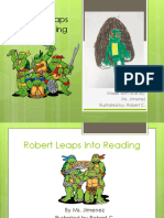 robert leaps into reading edit