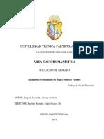 Agustin Cueva, Alejandro Moreano, Bolivar Echeverria