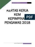 Kertas Kerja Kursus Kepimpinan 2018