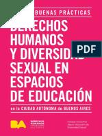 Guia de Buenas Practicas - Derechos Humanos y Diversidad Sexual en Espacios de Educacion 0