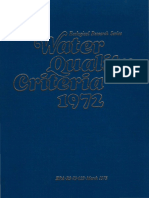 EPA 1972 Water Quality Criteria - Blue Book
