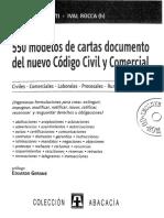 550 Modelos de Carta Documento