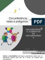 Circunferência, Retas e Polígonos