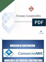 Proceso constructivo de casas molde