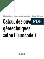 DUNOD Eurocode 7