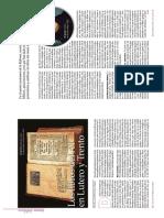 Los Libros del Antiguo Testamento en Lutero y Trento_revista Tierra Santa_Mayo Junio 2017_Eulalio Fiestas
