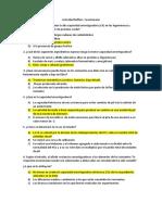 Actividad Buffers. Cuestionario