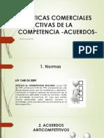 ACUERDOS RESTRICTIVOS DE LA COMPETENCIA