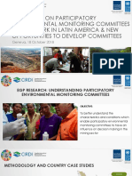 Participatory Environmental Monitoring Committees