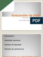 Evaluacion de AVD