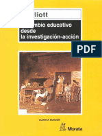 ELLIOT John El Cambio Educativo Desde La Investigacion Accion PDF