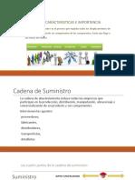 Concepto, Características e Importancia SCM