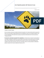 Congreso de Sonora impulsa pasos de fauna en sus carreteras