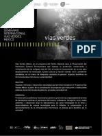 Programa Seminario Vias Verdes