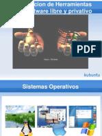 Herramientas Software Libre vs Software Privativo