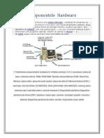 Componentele  Hardware.docx