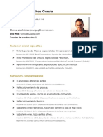 Currículum completo Jesús García-Ochoa García