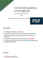 Cómo Elegir El Tema de Tesis y Definicion Del Problema Taller 1 2018