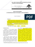 3.Tahrir n. Aldelaimi Article Bony Syngnathia (Congenital Fusion of Maxilla and Mandible)