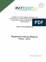 Regimento Interno Eleitoral
