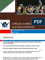 african-american success initiative 2018