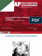Semana 4 - Conductismo, Humanismo y Escuela Cognitiva(1)