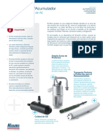 filtro secador acumulador
