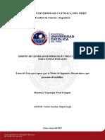 Mendoza Paul Generador Hidroeléctrico Portable Rurales