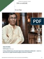 N. Ravikiran on His Musical Journey