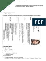 Estructura de Documentos