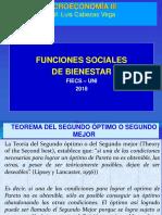 Funciones Sociales de Bienestar