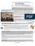 Cox News Volume 8 Issue 8