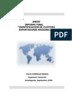 Cluster Antofagasta Anexo