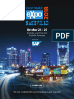 2018 Customer Expo Event Guide