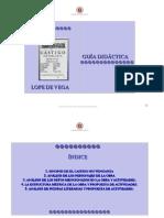 Guia Didactica Castigo Sin Venganza Word