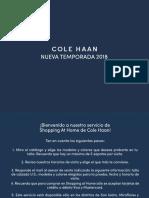 Catálogo Cole Haan Hombre 2018