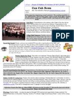 Cox News Volume 8 Issue 9
