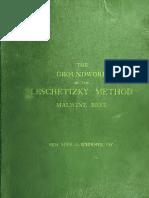Bree, Malwine - The Groundwork of the Leschetizky Method