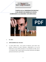 Reajuste Automatico de La Remuneracion Principal - Decreto Legislativo 276
