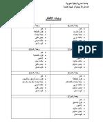 مذكرة لـ الحاج صالح