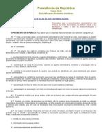 Lei 13726 Desburocratização ADM